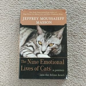 The Nine Emotional Lives of Cats Book